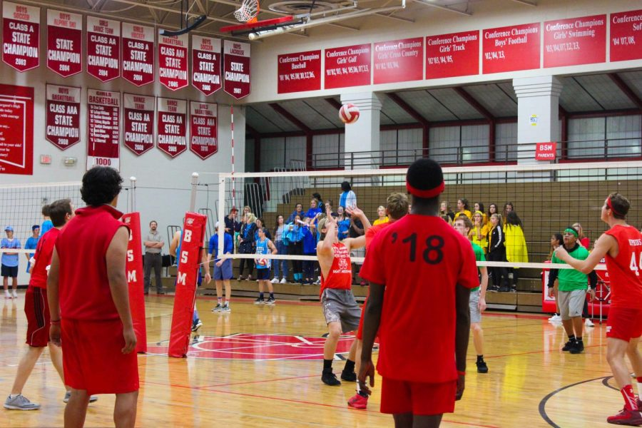 Boys' Volleyball cut short due to a power outage