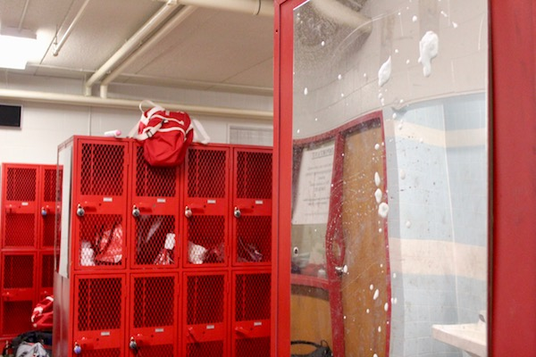The current BSM locker rooms aren't big enough to accommodate student athletes.
