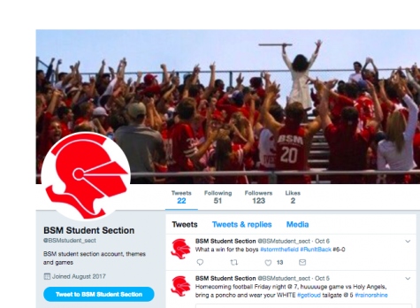 BSM Twitter accounts help keep students and fans in touch with what's going on