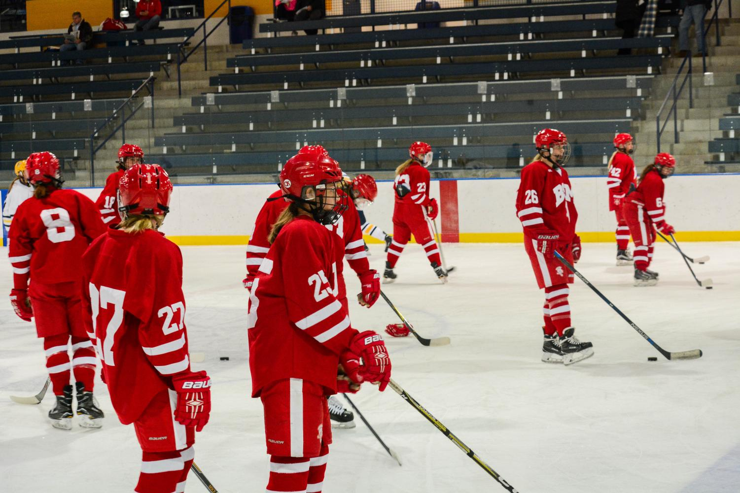Girls' hockey hopes for a strong season.