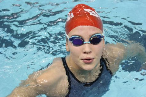 BSM girls' swim prepares for the Section Meet