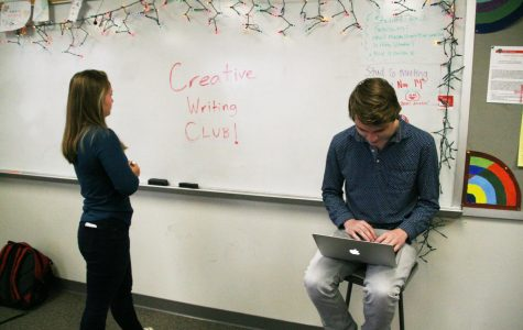 Creative Writing Club promotes writing outside the classroom