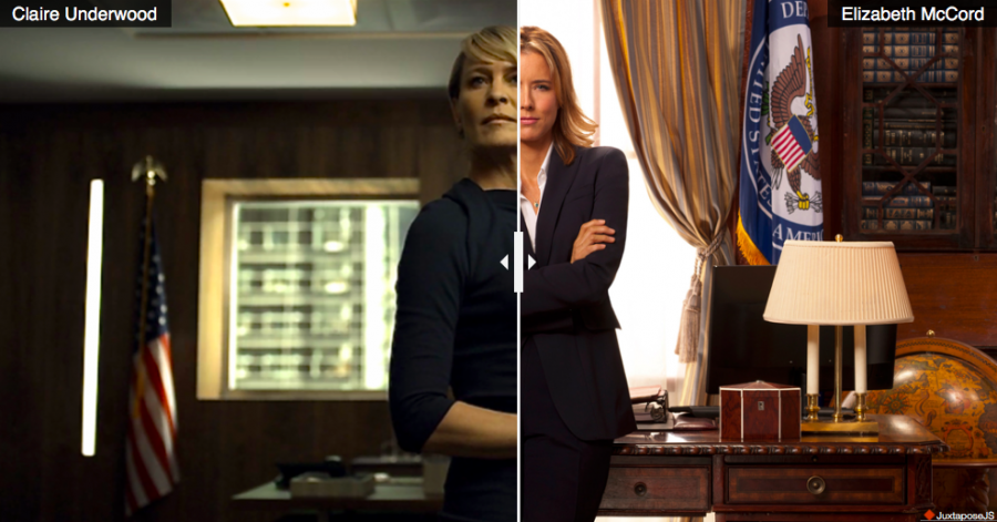 """""""House of Cards"""" and """"Madam Secretary"""" use clothing choices to make a statement"""