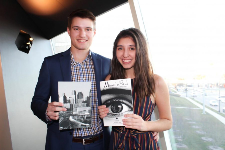 Two students publish their own book about people of the Twin Cities