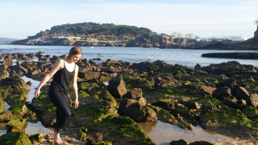 Olivia Carlisle spent her junior year studying abroad in Spain.