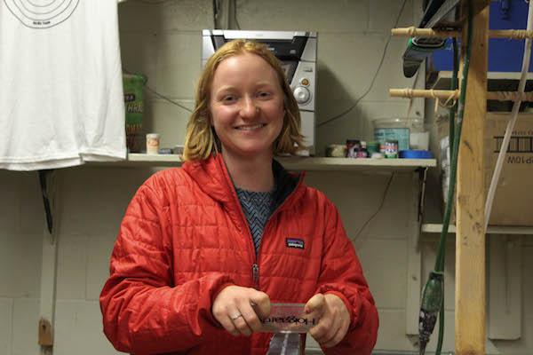 BSM's new nordic coach, Katherine Hokanson, grew up loving nordic.