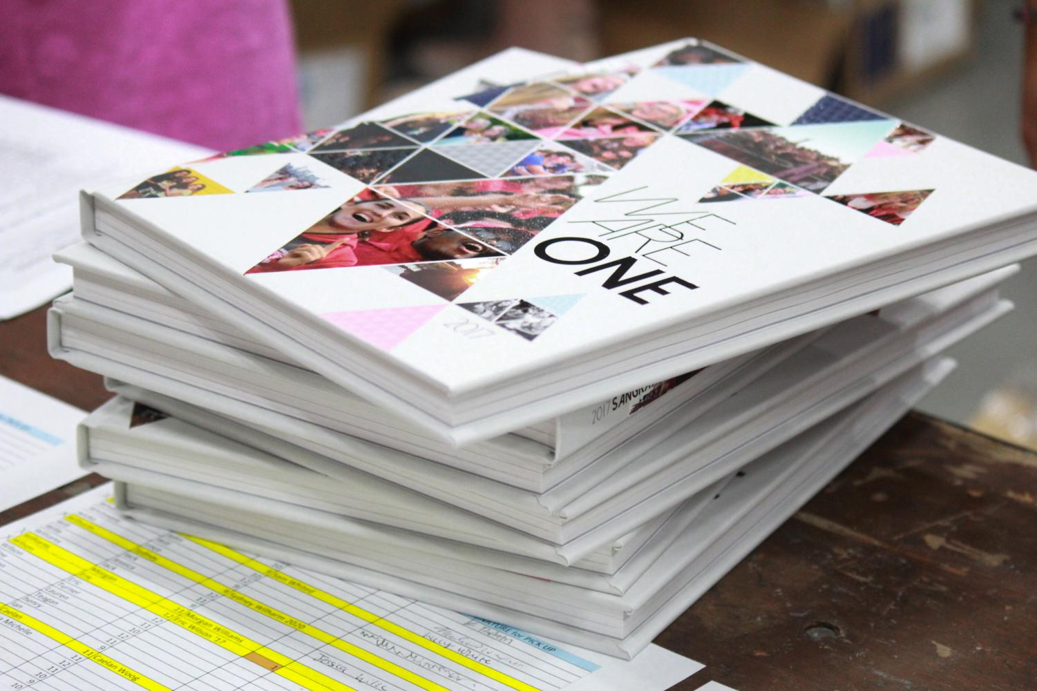 There are still 45 copies of last year's yearbook that were never sold.