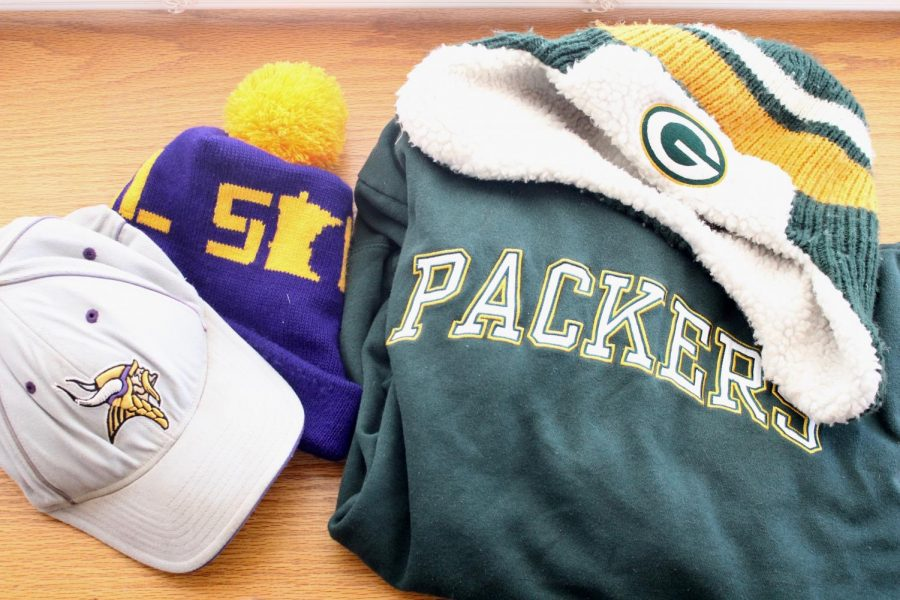 Many students have strong loyalties to a specific football team.