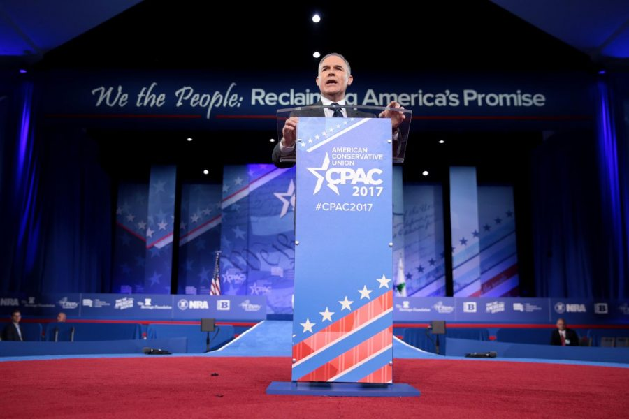 Scott+Pruitt+speaking+at+the+Conservative+Political+Action+Conference+in+2017