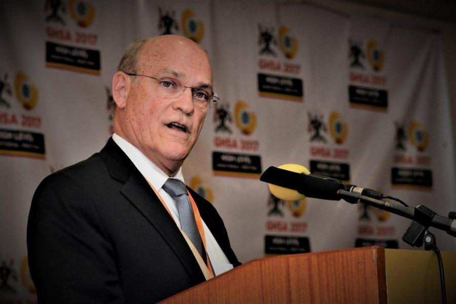 Admiral Tim Ziemer speaks at CDC global.