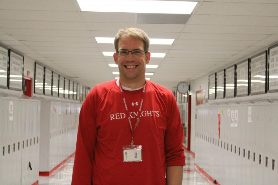 John Porisch has been an assistant coach for girls' track and field for 14 years.
