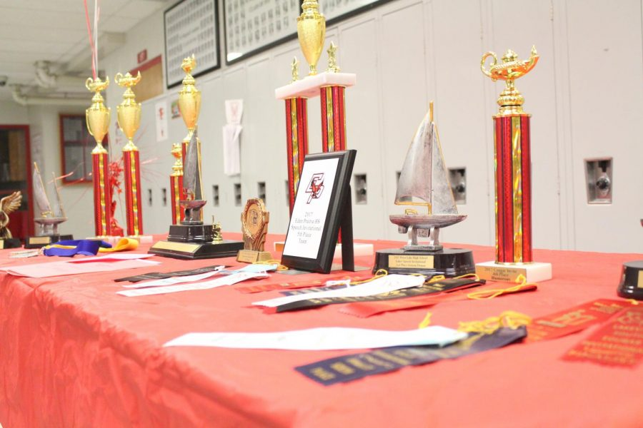 The speech team has won numerous awards, and numerous competitors did not start out as strong speakers.