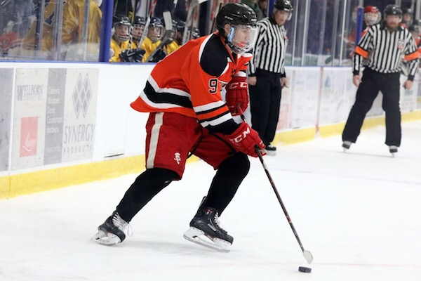 Khalil broke his wrist during a Junior Gold A tournament after forcefully colliding with another player. After months of pain, rest, and rehab, Khalil is more determined than ever to return to the ice to finish out his two-year hockey career with the SLP Flyers.