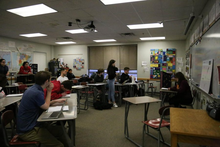 BSM's Mock Trial prepares for state.