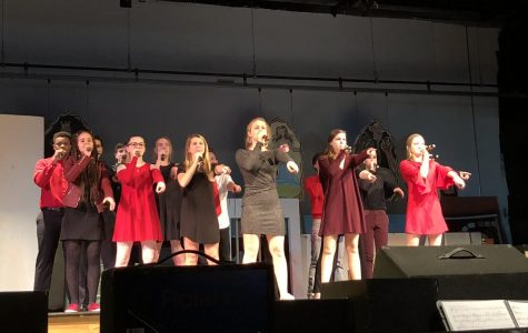 BSM's a cappella group performed at ICHSA