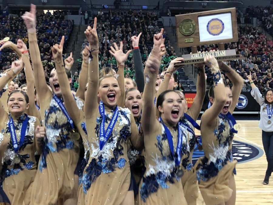 Dance Team takes home another State Jazz Title