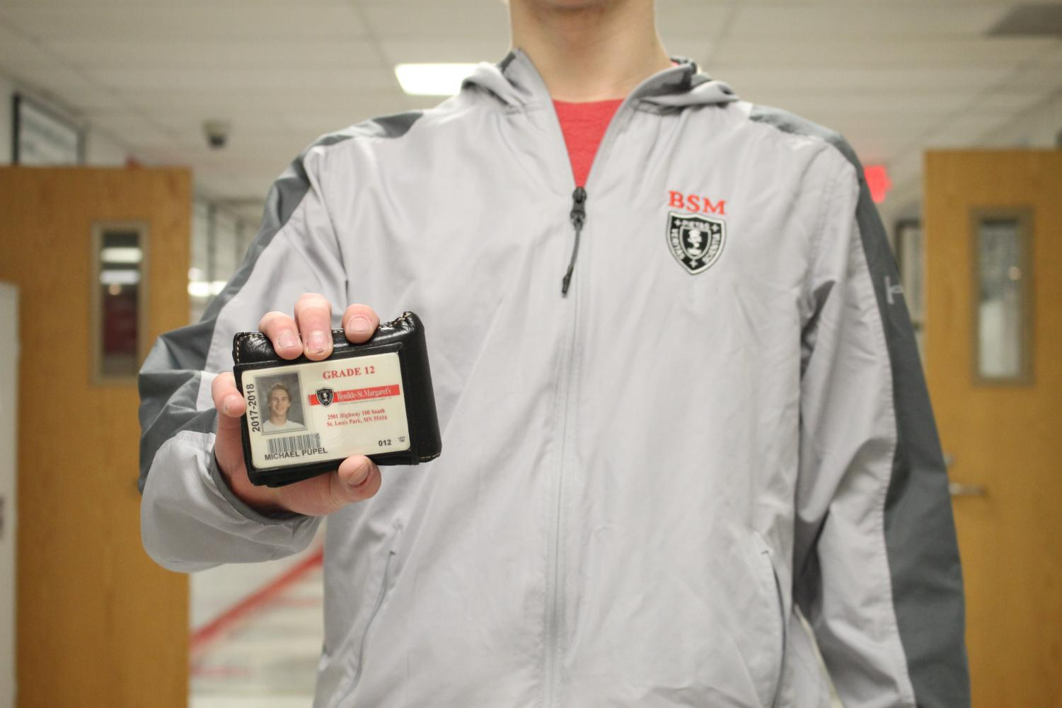 Seniors can now use their ID's instead of having to use classroom passes, as in the past.