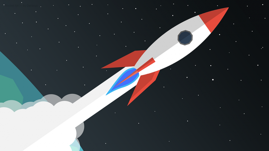 Tiny rockets are blasting off from Earth in to space every day!
