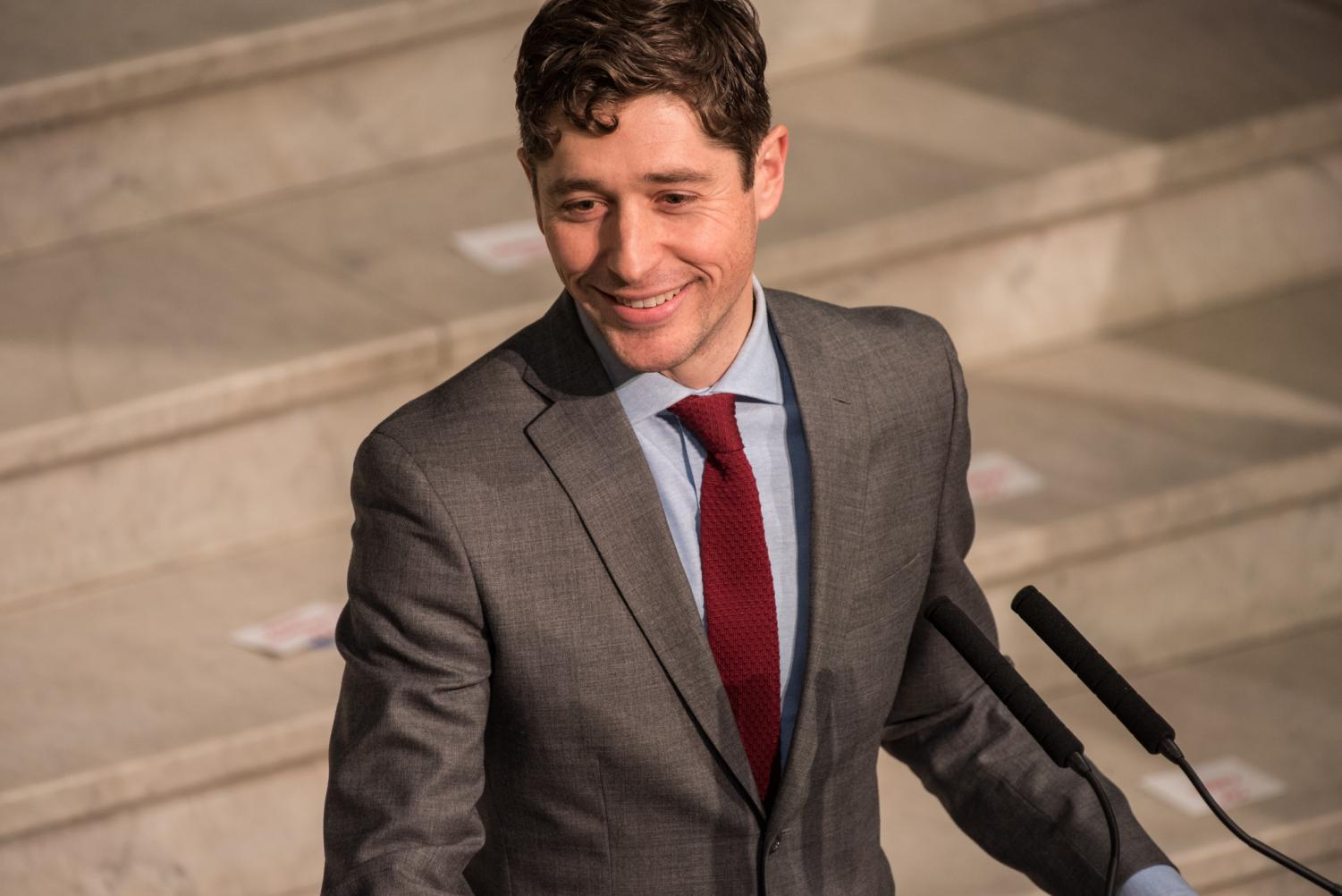 After running the Twin Cities Marathon, Jacob Frey decided that Minneapolis was his forever-home. Now, as the the Mayor of Minneapolis, Frey works to increase affordable housing and gun control bans to better the city.