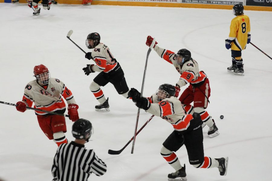 A goal by Tommy Anderson put the Flyers ahead of their competition - the Warriors. This win came after the Warriors had gotten the best of the Flyers multiple times in the regular season.