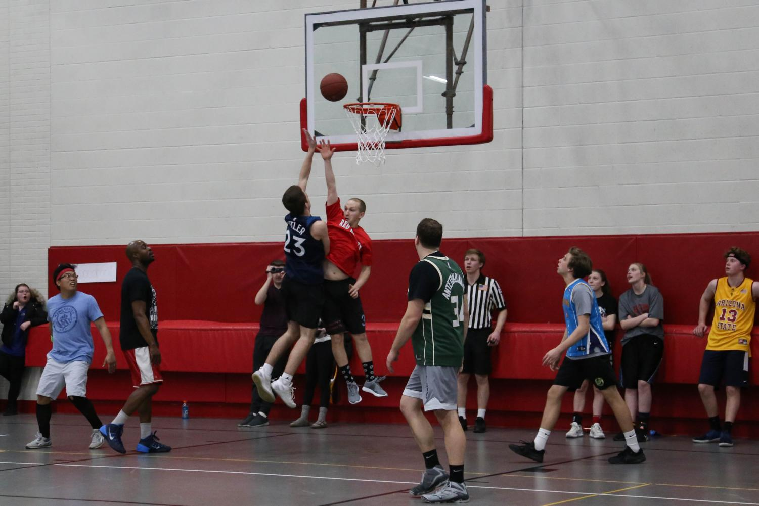 Each year, BSM's week of March Madness celebration culminates in a student vs. faculty basketball game. Last year, the students took the win, but––with talent on both sides this year––either side could win.