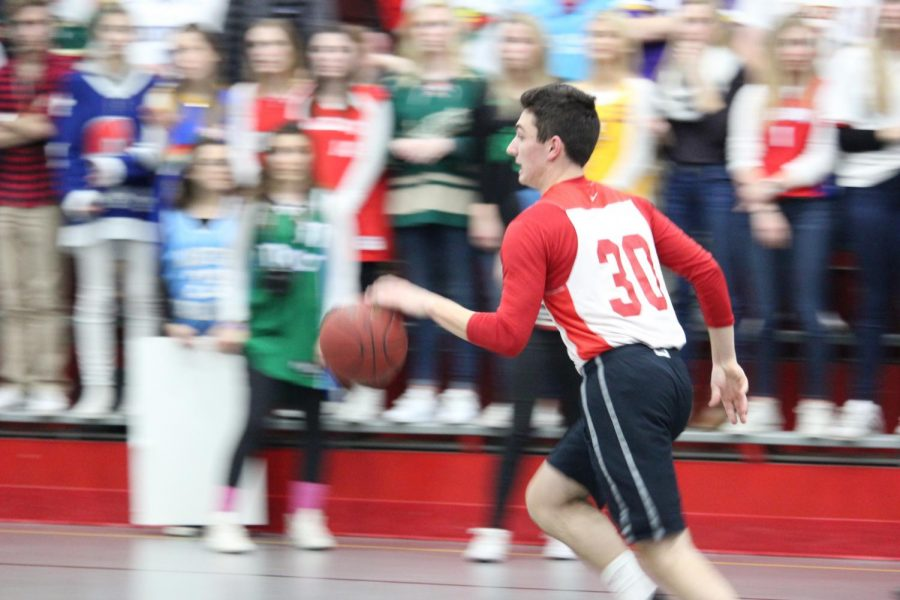 Each year, BSMs week of March Madness celebration culminates in a student vs. faculty basketball game. Last year, the students took the win, but––with talent on both sides this year––either side could win.