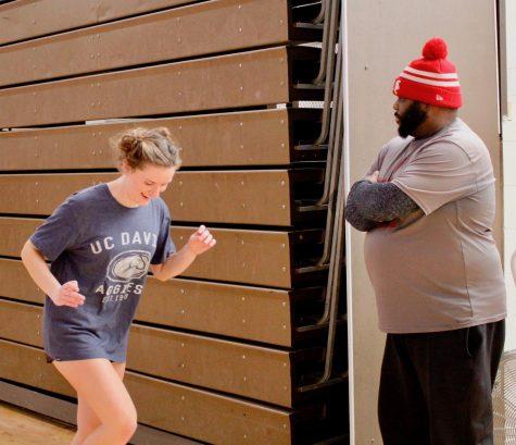 Coach Joe Creer runs workouts for BSM sports' teams