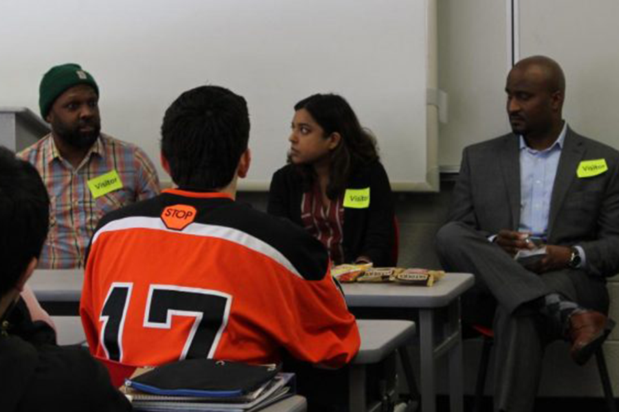 During World Language week, students could visit different classrooms and hear about the impact language has on a variety of careers. Speakers were brought in so that students could get a perspective of the importance of language in everyday life.
