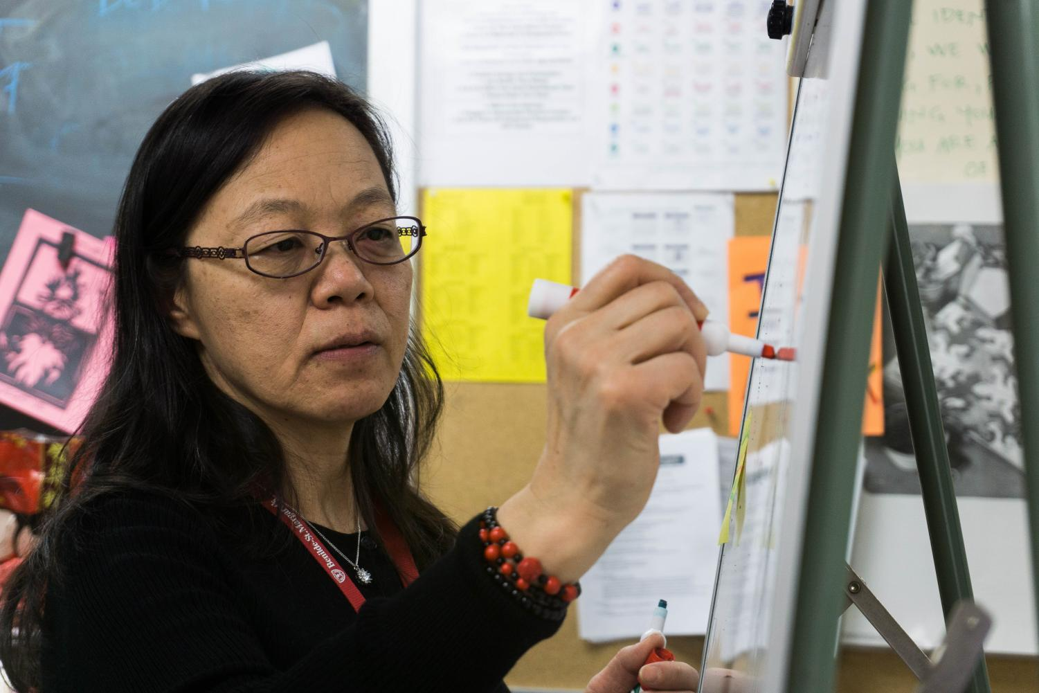 Chinese teacher Ms. Sun has proven to be a staple in the BSM community through her work forming BSM's Chinese program.