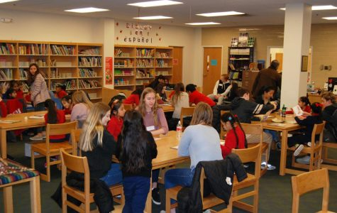Spanish III students write books for local elementary school
