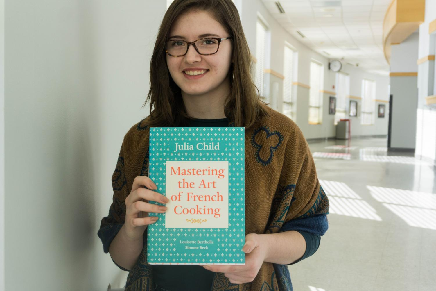 Junior Grace Bacon channelled her passion for cooking by taking on some of renown chef Julia Child's recipes.