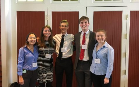 Seniors participate in the annual Minnesota State Science and Engineering Fair