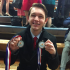 Speech captain and senior Henry Bird qualifies for the national tournament in Extemporaneous Speaking