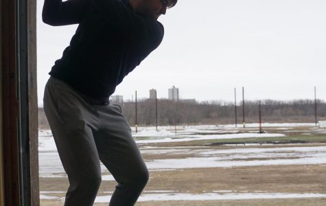 BSM boys' golf finally on the course after tough weather