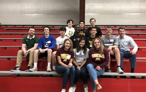 Alums and seniors gather for annual breakfast