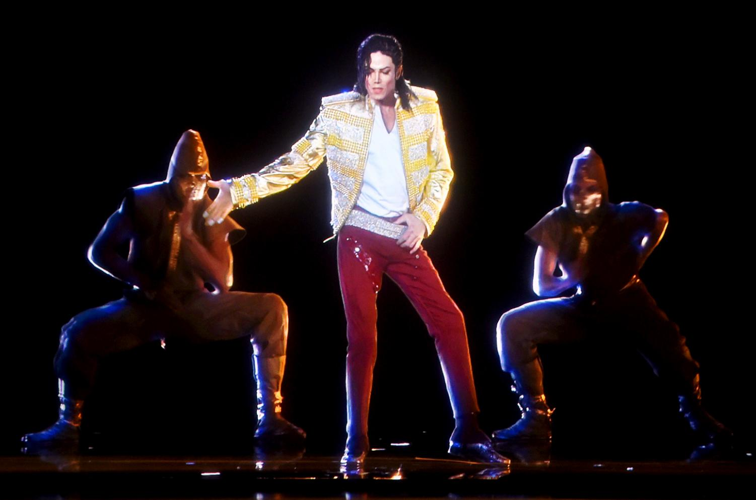 A hologram of Michael Jackson made an appearance at the 2014 Billboard Music Awards. This hologram performed his hit song
