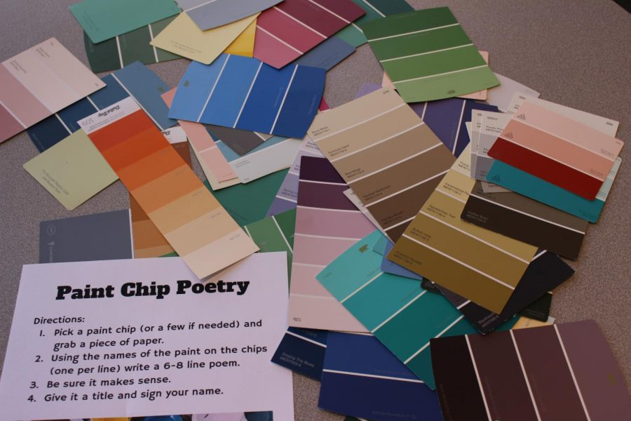 Poetry Party encourages students to express themselves