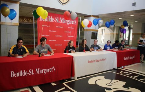 Seniors sign with United States Armed Forces and athletics