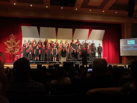 Choir performs at annual spring concert