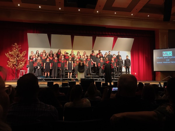 BSM choir students held their annual spring concert on Wednesday, May 16. The concert consisted of big group songs, small group songs and individual music.