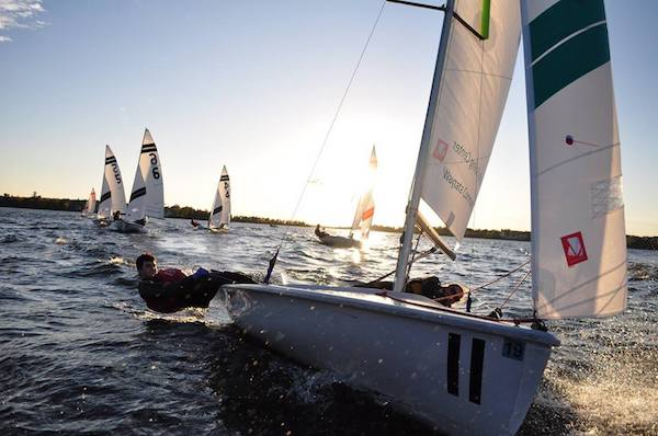 BSM's sailing team meets for an eight week season from the beginning of April to the end of May.