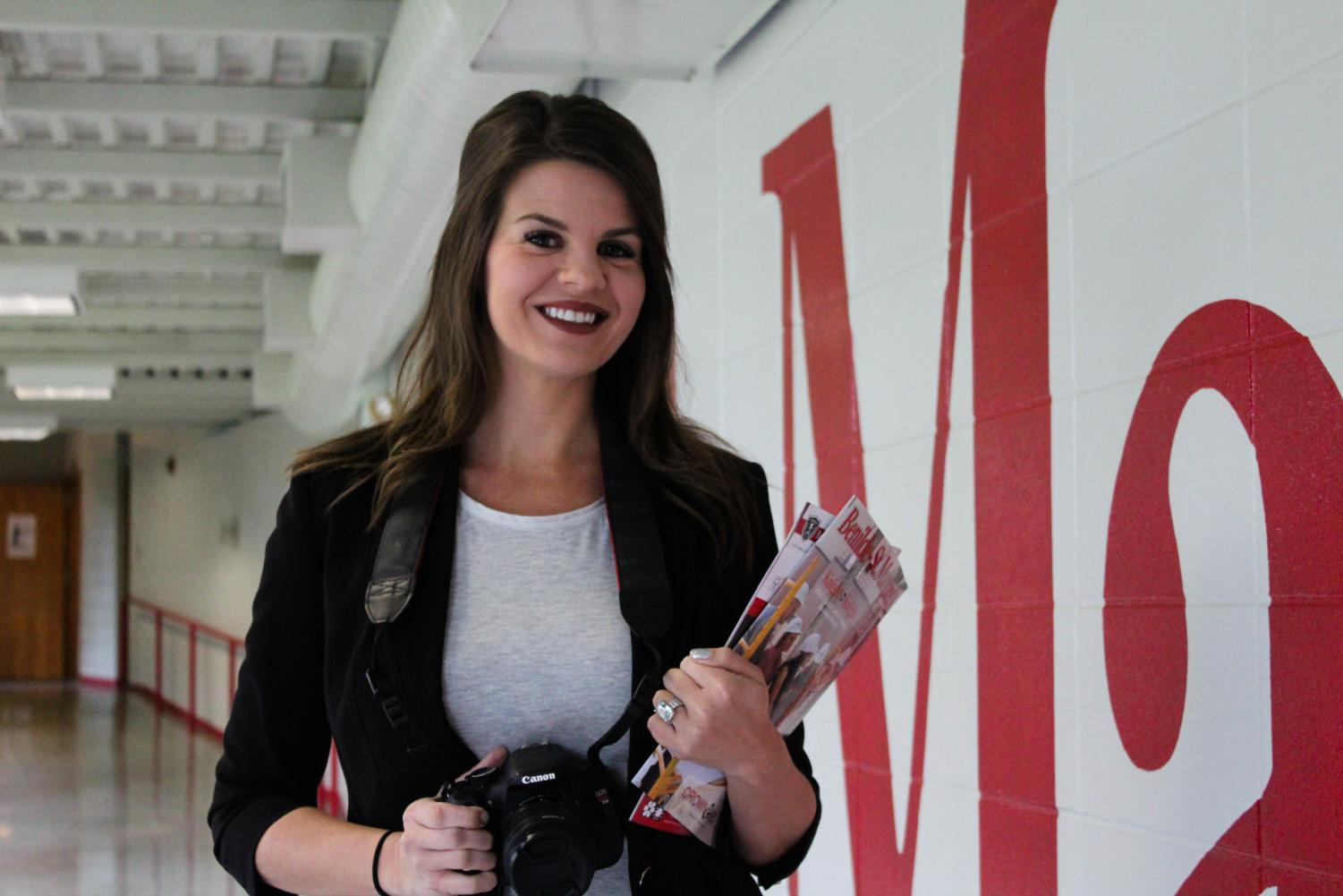 Ms. Megan Brown worked in broadcasting and news for four years before  becoming the Director of Marketing and Communications for BSM.