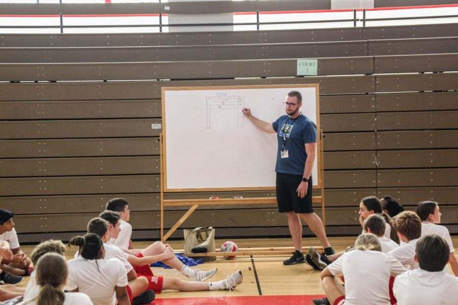 Mike Johnson hired as BSM's new wellness and physical education teacher.
