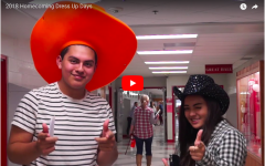 Student celebrate homecoming week with dress up days