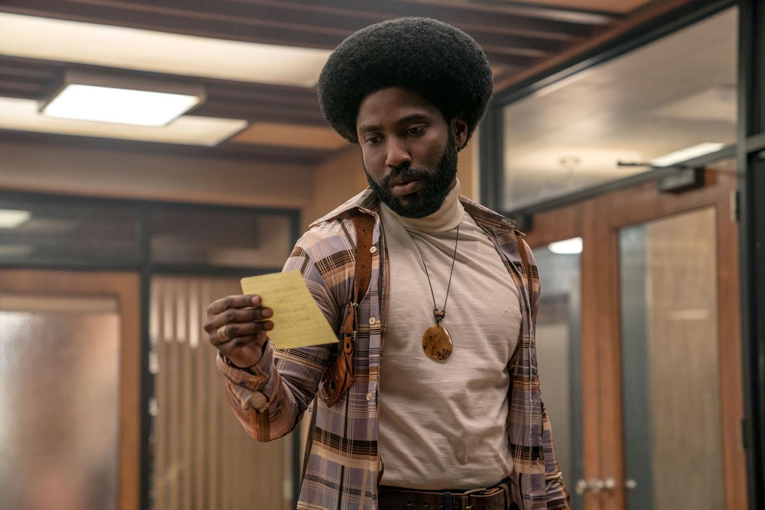 John David Washington portrayal of Ron Stallworth is just one of the strong elements of this important film.