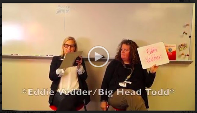 Ms. Kern and Ms. Lenhart-Murphy go head-to-head in the Best Friend Challenge