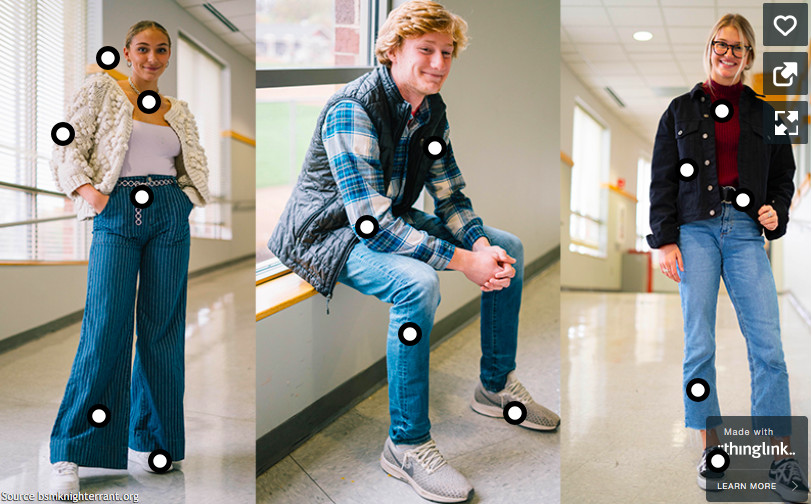 Fresh fashion trends hit the hallways this fall