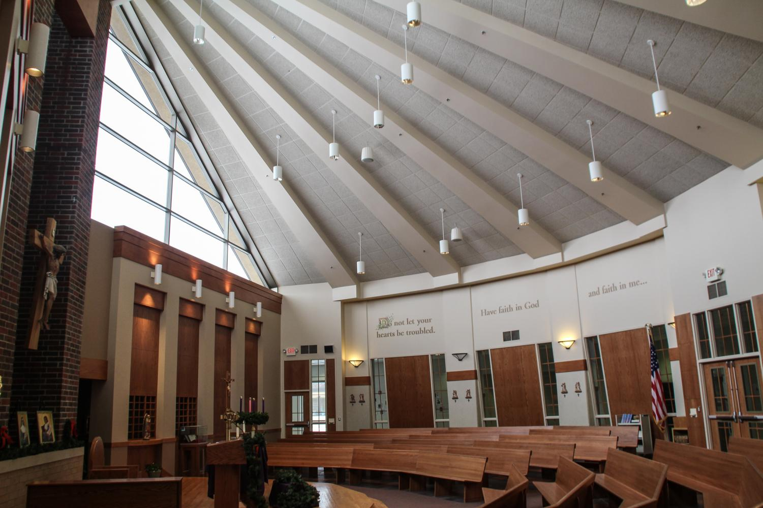 The BSM chapel is home to the Red Knight Journey meetings.