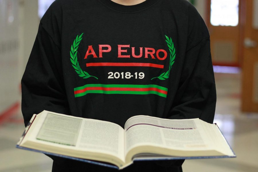 The AP Euro class is known for their T-shirts.