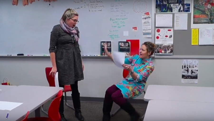 "Teachers reenact scenes from ""Riverdale"": Part Two"